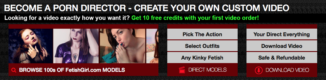 Order your Custom Porn Video