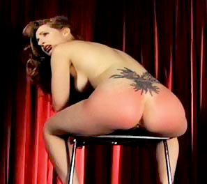 Clips from erotic spank